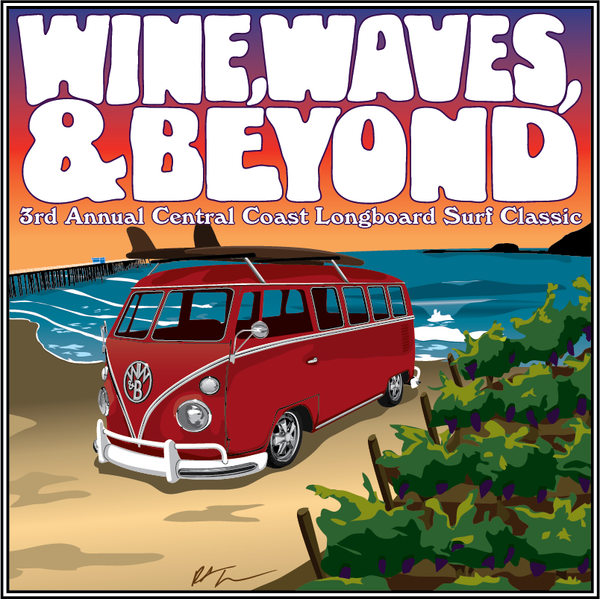 Wine Waves & Beyond Longboard Classic