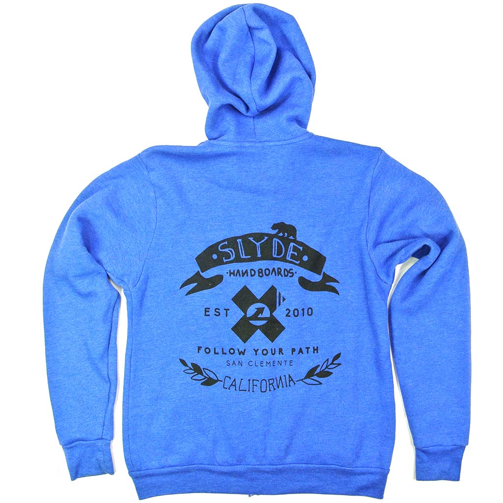 Heather Fleece Pull Over Hoodie