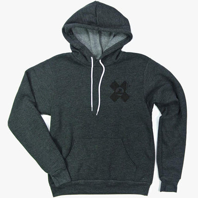 Limited Edition Follow Your Path Deep Heather Sponge Fleece Pull Over Hoodie - Unisex