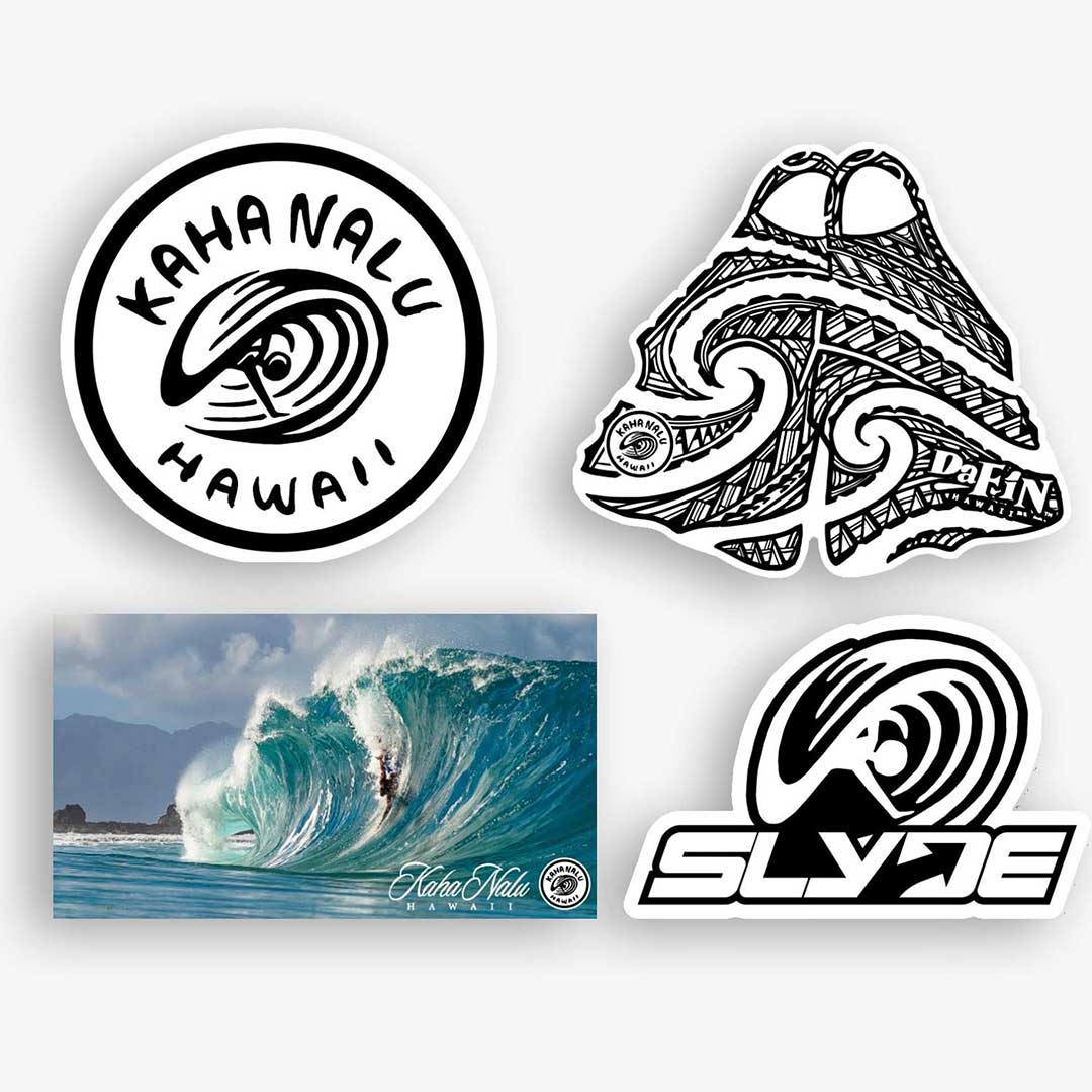 Kahanalu Slyde Dafin Sticker 4 Pack