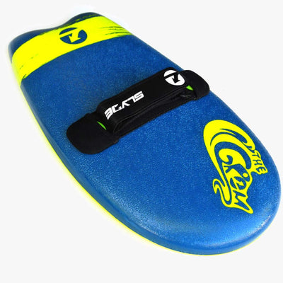 The Slyde Grom Soft Top Fun Handboard For Bodysurfing With Hand Strap