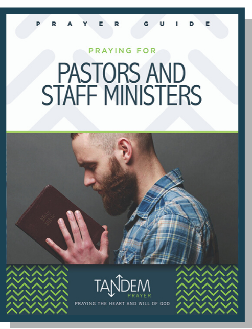 Praying for Pastors and Staff Ministers