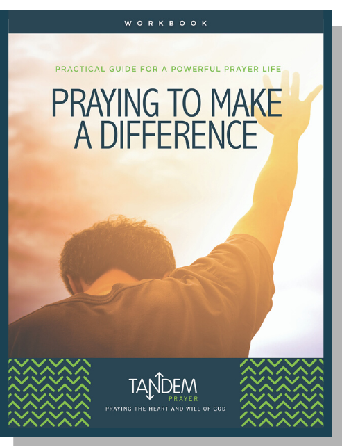 Praying to Make a Difference – Workbook