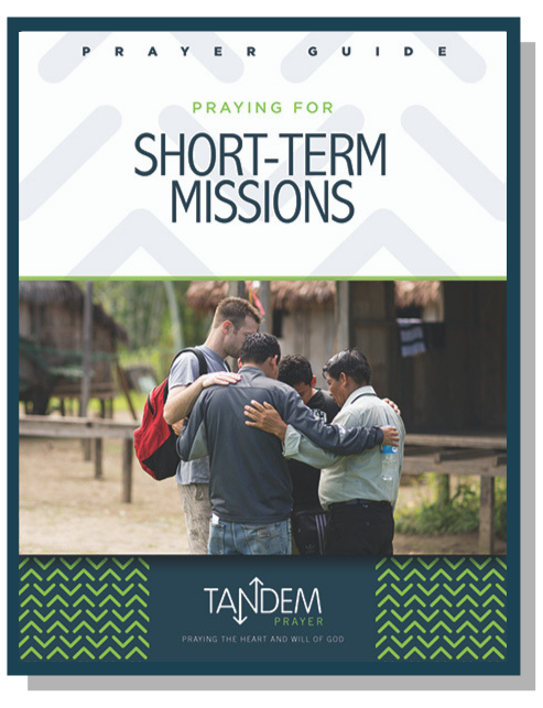 Praying for Short-Term Missions