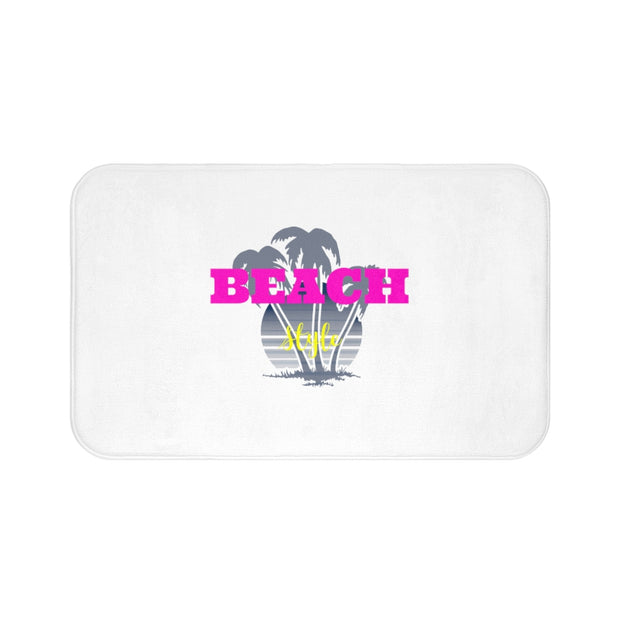 Bath Mat: Beach Life