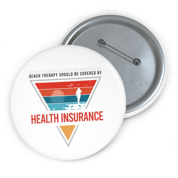 Custom Pin Buttons: BeachTherapy should be covered by HealthInsurance