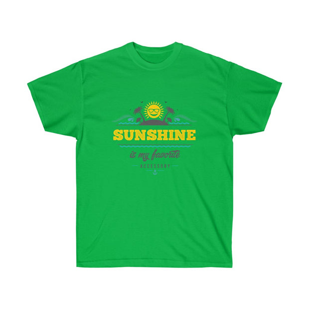 T-shirt Sunshine is my favorite Accessory