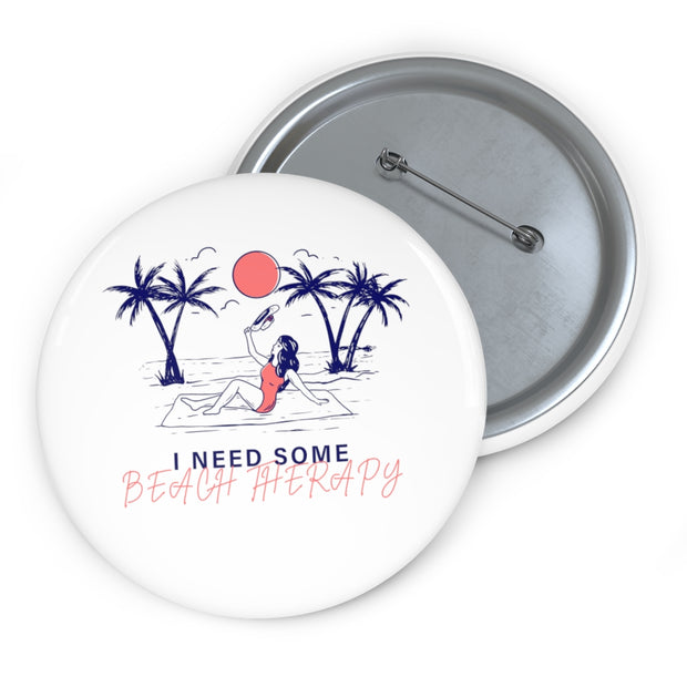 Custom Pin Buttons: I need some Beach Therapy
