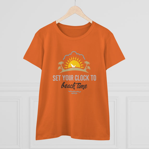 T-shirt Set your Clock to Beach Time