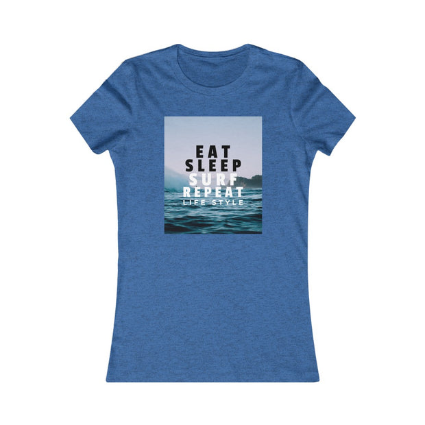T-shirt EAT, SLEEP, SURF, REPEAT Life Style