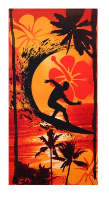 Lay down and relax on the beach on these lovely beach towels