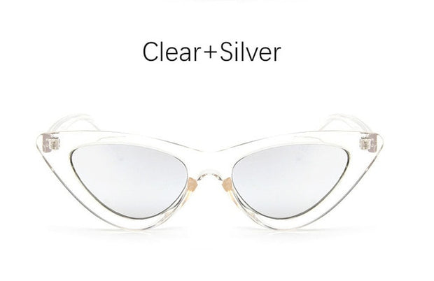 For YOUR EYES only! Look amazingly beautiful with these Vintage Retro Triangular Cat Eye Glasses