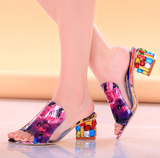 Be different and check out these fun loving colorful Slippers ♥