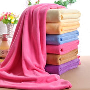 Wrap yourself in one of those 10 large, soft and colourful beach towels and feel awesome ♥