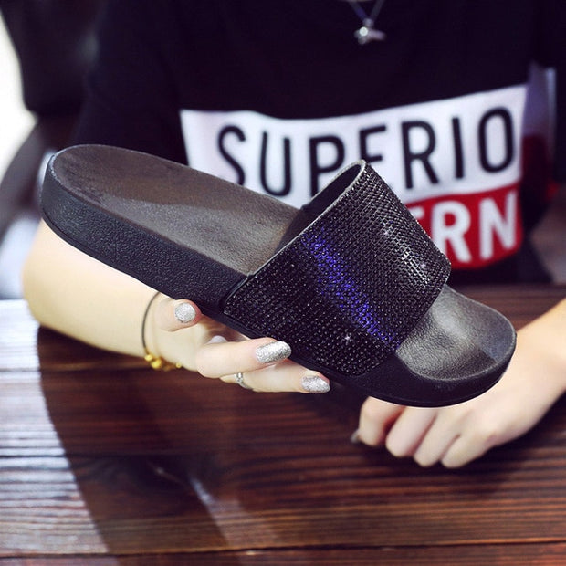 Sparkling Flip Flops to match your sparkling personality ♥