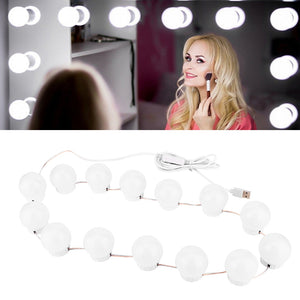 NEW 4 Types LED Vanity USB Touch Headlight Bulbs For Cosmetic Lighted Make up Mirrors