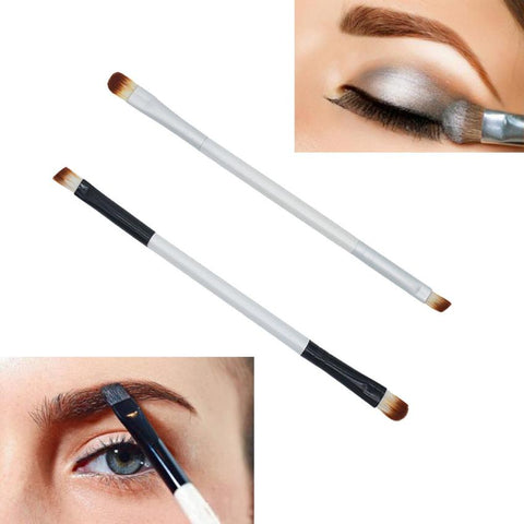 2019 Most Popular Makeup Brush Double-end Eyeshadow Eyebrow Brush Applicator