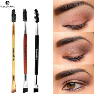 2019 NEW Eyebrow Brush Beauty Makeup Wood Handle Eyebrow Double Ended Brushes 1031 X23 1.5 10