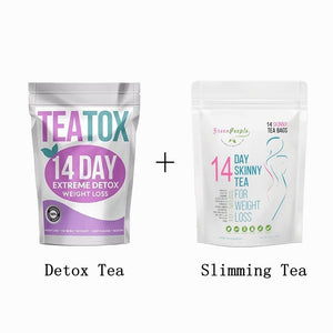 14 Days extreme Fat Burning Slimming Tea & Detox Tea for Weight Loss