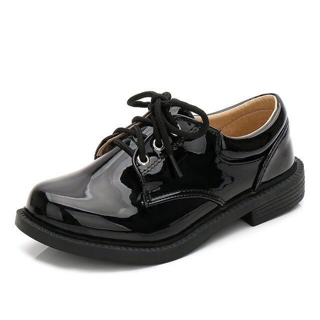 Spring New Boys Pu Leather Casual Loafers