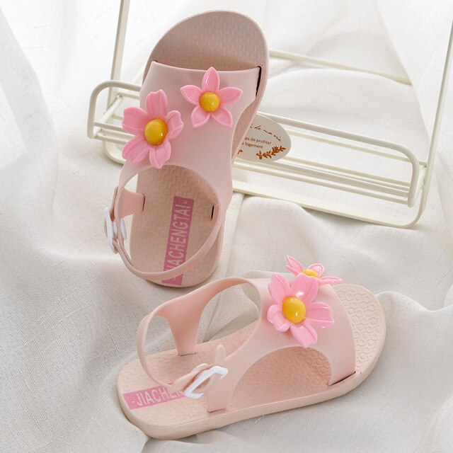 Beach Lovely Flowers Shoes