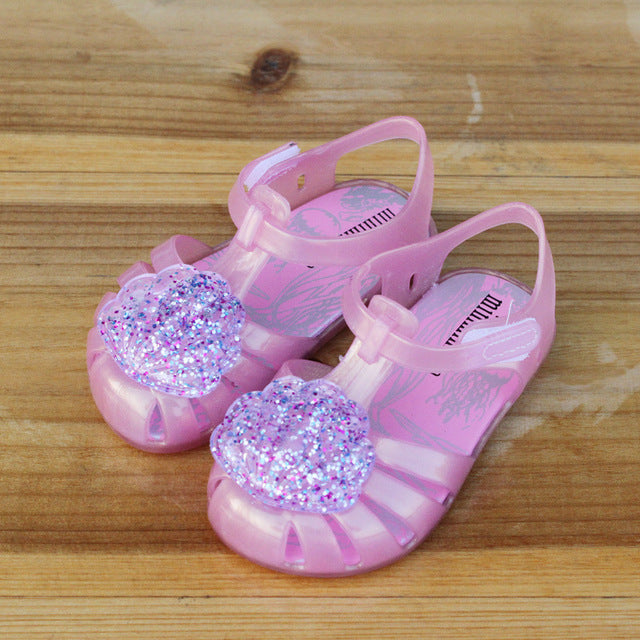 Summer Girls Sandals Sequin