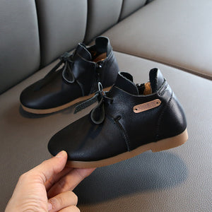 Children's Genuine Leather Boots