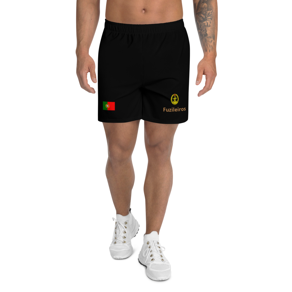 Men's Athletic Long Marines Shorts - Art Squad