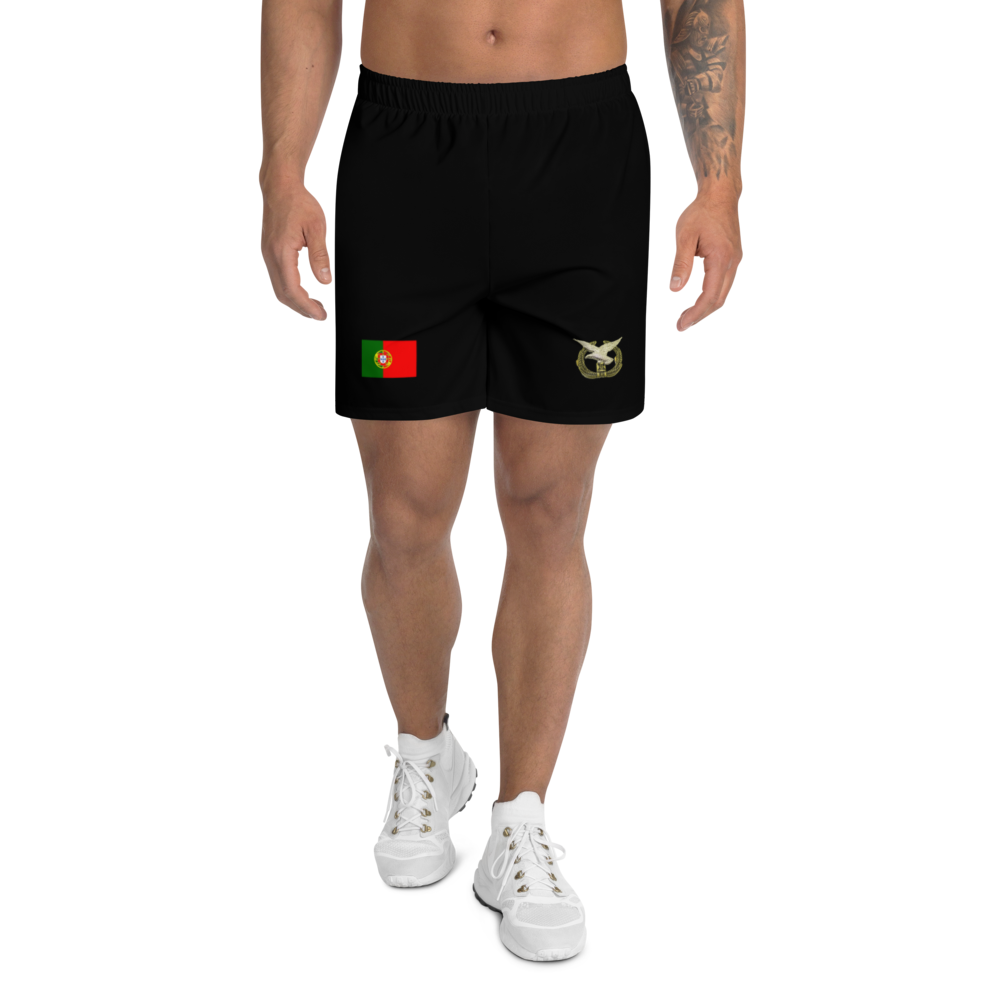 Men's Athletic Long Air Force Shorts - Art Squad