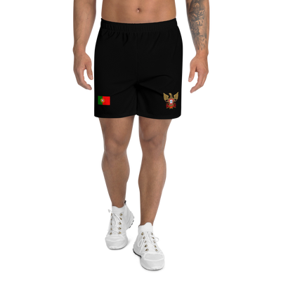 Men's Athletic Long Firefighters Shorts - Art Squad