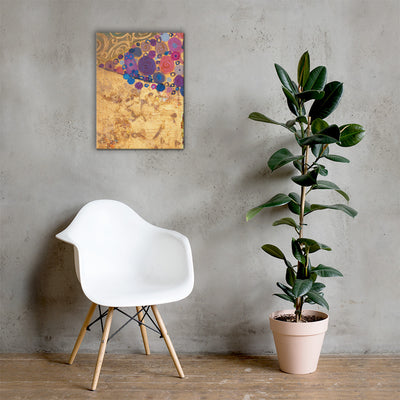 ''Bubble Gum'' Canvas Print - Art Squad