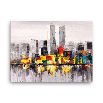 ''New York'' Canvas Print - Art Squad