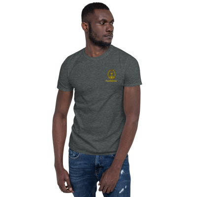 Unisex T-Shirt Embroidery Marines - Art Squad
