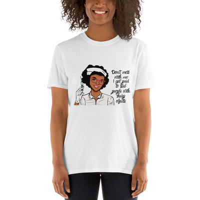 Short-Sleeve Nurse T-Shirt - Art Squad
