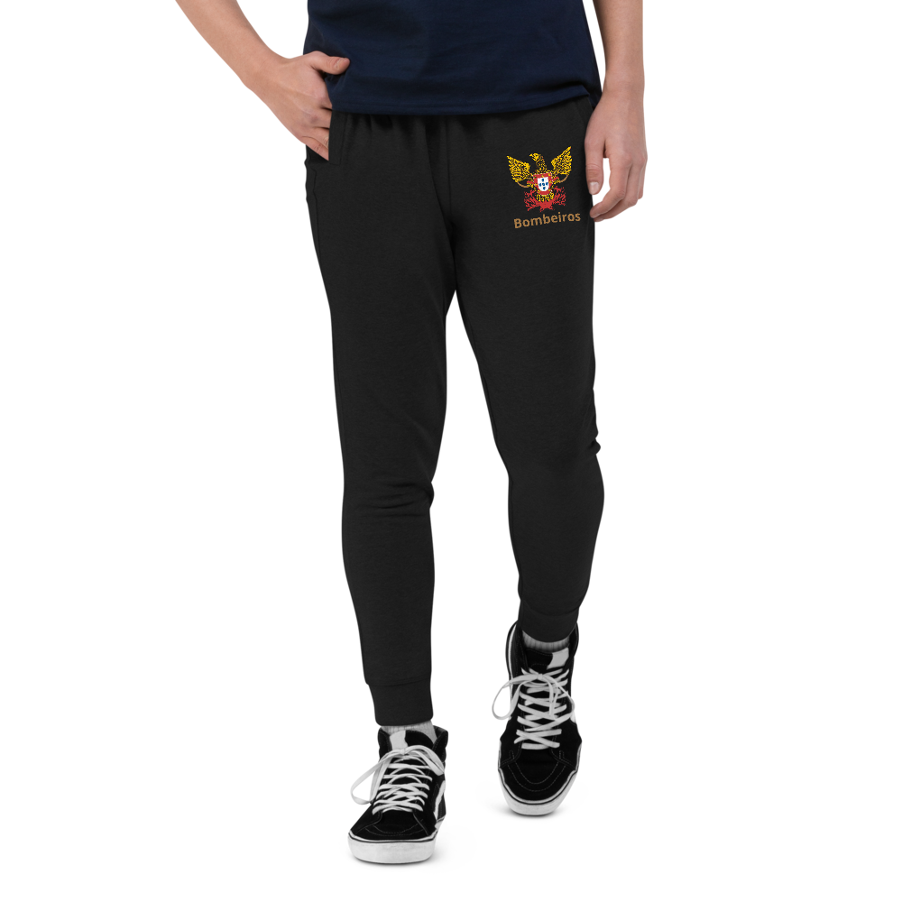 Unisex slim fit Firefighter joggers - Art Squad