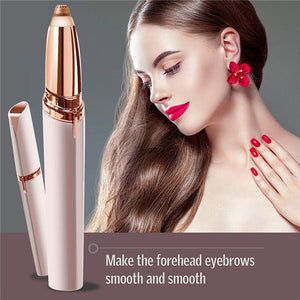 small electric eyebrow razor for women