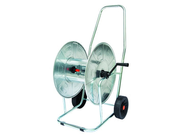 "Agrati Professional hose reel, galvanized steel made 3/4"", 80m"