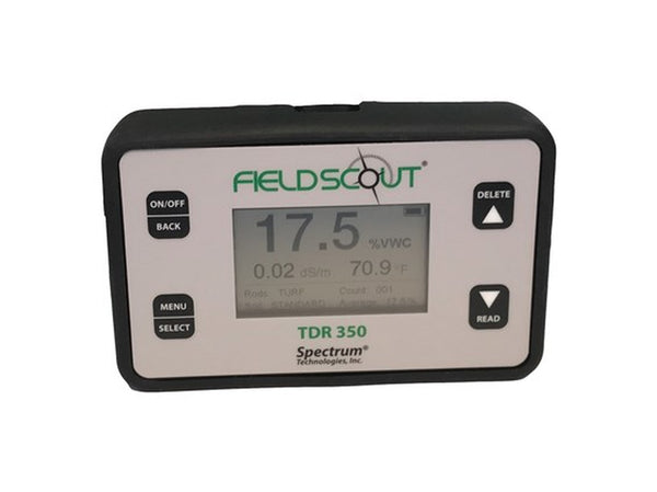 Field Scout TDR 350 Digital Moisture Sensor WITH 1 set probes (Included) & Case (Choose Depth of Probes)