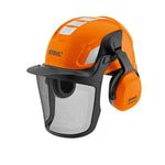 STIHL Advance X-Vent Helmet set with chin strap