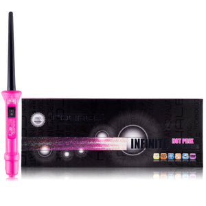 Baby Curls Tourmaline Curling Wand - Hot Pink