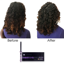 Load image into Gallery viewer, Pro Classic Ceramic Curling Wand - Purple Leopard