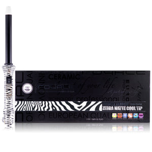 Cool Tip Tourmaline Curling Wand - Zebra Print