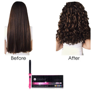 Cool Tip Mega Tourmaline Curling Wand - Pink