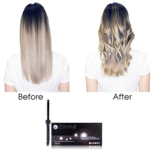 Load image into Gallery viewer, Cool Tip/Soft Touch Tourmaline Curling Wand 19MM - Black