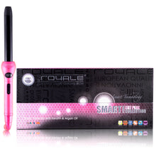 Load image into Gallery viewer, Cool Tip/Soft Touch Tourmaline Curling Wand 25MM - Hot Pink