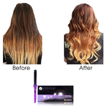 Load image into Gallery viewer, Cool Tip/Soft Touch Tourmaline Curling Wand 32MM - Purple Lilac