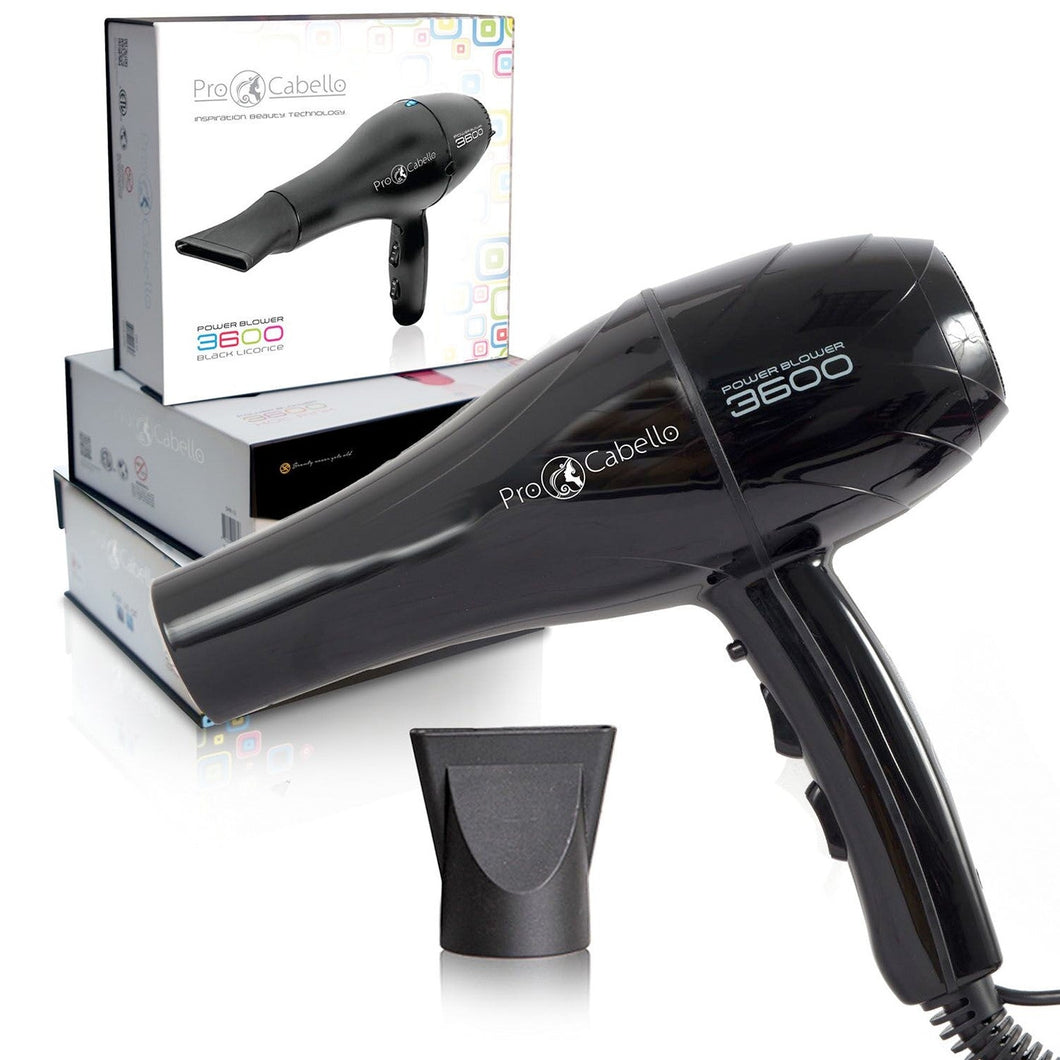 Power Blower 3600 Hair Dryer - Black