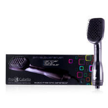 Load image into Gallery viewer, 3 in 1 Drying Brush, Styler, & Detangler - Black