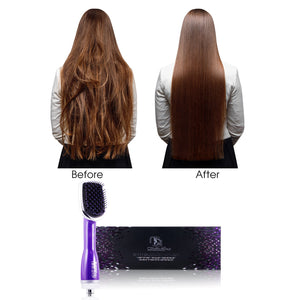 3 in 1 Drying Brush, Styler, & Detangler - Purple