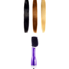 Load image into Gallery viewer, 3 in 1 Drying Brush, Styler, & Detangler - Purple